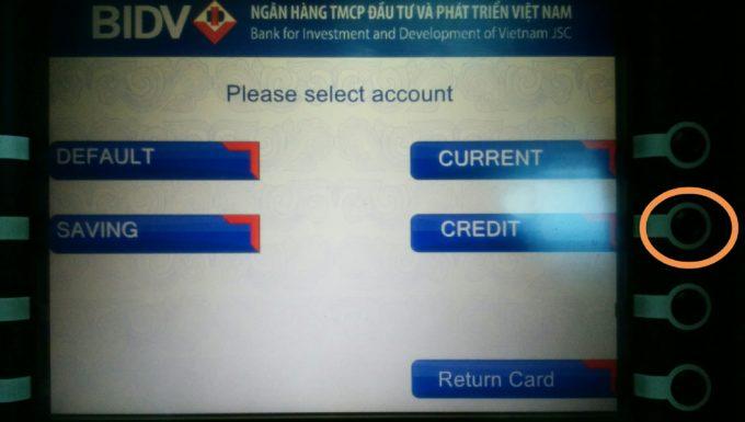 クレジットを