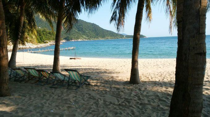 近場のビーチ