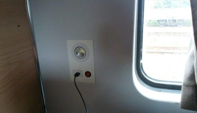 列車内USB