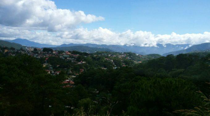 バギオの山