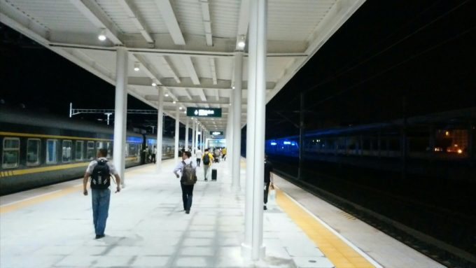 銅仁駅到着